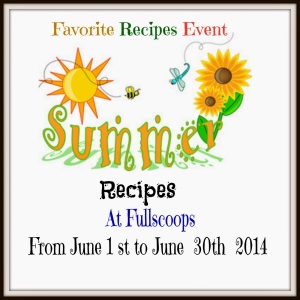 Favorite recipes june2014