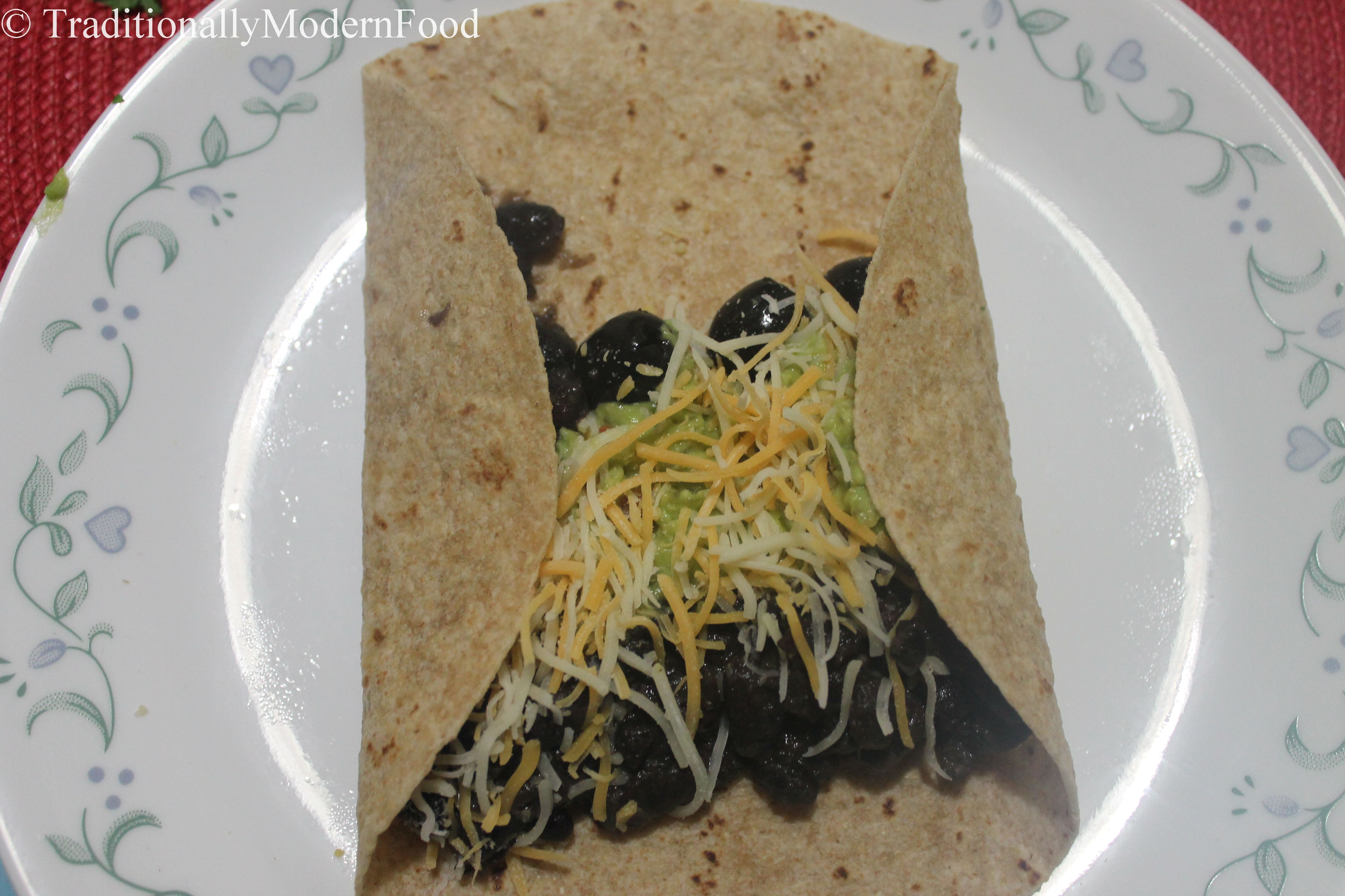Burrito indian style traditionally modern food check out my other black bean recipes forumfinder Gallery