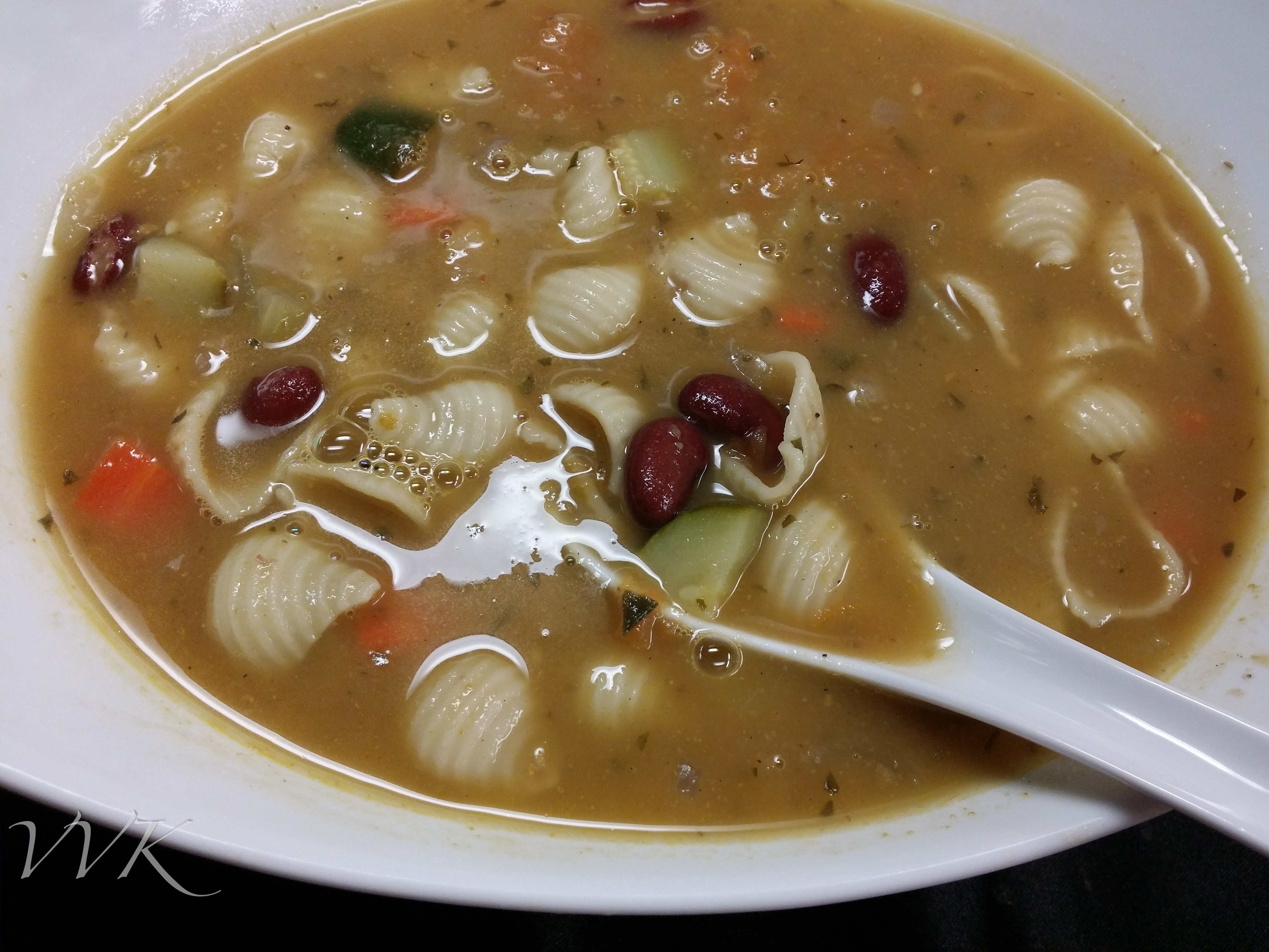 Minestrone Soup Guest Post From Vidhya Vidhya Vegetarian Kitchen Traditionally Modern Food