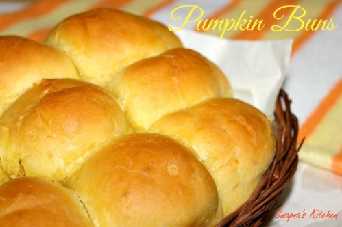 pumpkin buns ,display pic